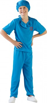 Spartys-Surgeon-Scrubs-Costume on sale