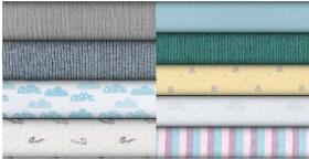 Print-Plain-Fleece-Ribbing on sale