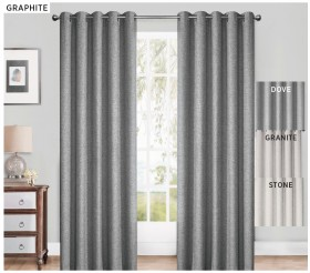40-off-Neutrals-Blockout-Eyelet-Curtains on sale