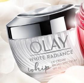 NEW-Olay-White-Radiance-Whip-UV-Cream-SPF-30 on sale