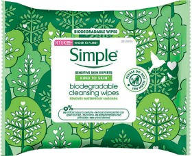 Simple-Kind-To-Skin-Biodegradable-Cleansing-Wipes-25-Wipes on sale