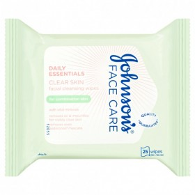 Johnsons-Daily-Essentials-Oil-Balancing-Facial-Cleansing-Wipes-25-Wipes on sale