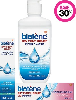 Save-30-on-Biotene-Oral-Care-Range on sale
