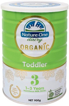 Nature-One-Dairy-Organic-Toddler-Nutritious-Milk-Drink-Step-3-900g on sale