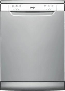 Omega-60cm-Freestanding-Dishwasher-Silver on sale