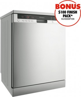Westinghouse-Freestanding-Dishwasher-Stainless-Steel on sale
