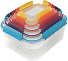 Joseph-Joseph-Nest-Lock-5-Piece-Container-Set-Multicolour on sale