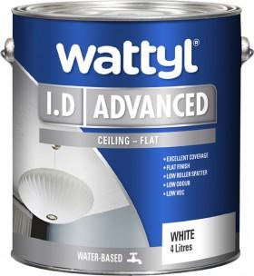 Wattyl-I.D-Advanced-Ceiling-4L on sale