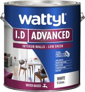 Wattyl-I.D-Advanced-4L on sale
