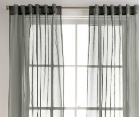 Mineral-Sheer-Curtain-in-Charcoal-140x230cm on sale