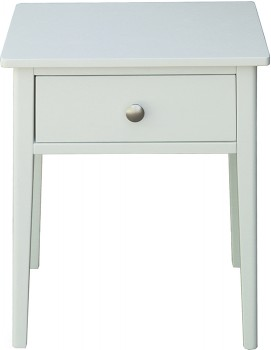 Lina-Bedside-Table-in-White-35x45cm on sale