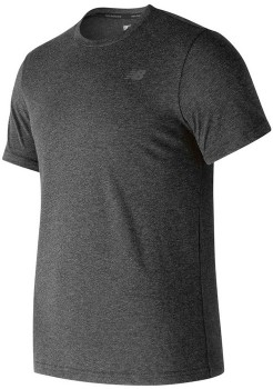 New-Balance-Heathertech-Tee-Black on sale