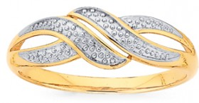 9ct-Gold-Dress-Ring on sale