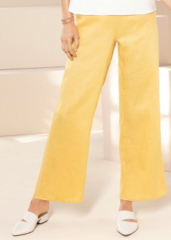 Emerge-Linen-Wide-Leg-Pants on sale