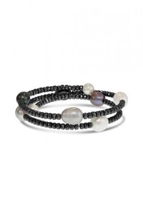 Pearl-Haematite-Bracelet on sale