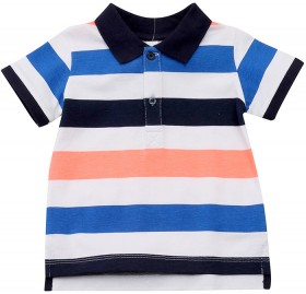 Dymples-Stripe-Polo on sale