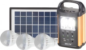 Solar-LED-Light-Kit-3x3W on sale