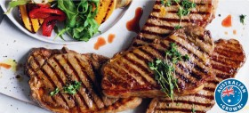Coles-Australian-Beef-Porterhouse-Steak on sale