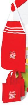 Little-Shop-Mini-Apron-Shopping-Bags-Set on sale