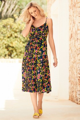 Kaleidoscope-Floral-Slip-Dress on sale