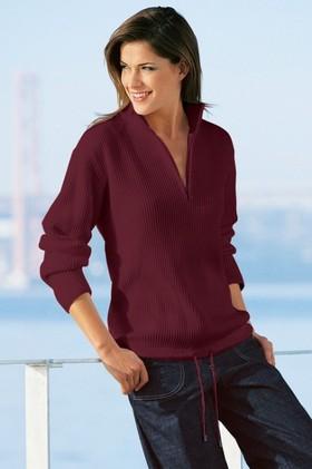 Capture-European-Ribbed-12-Zip-Sweater on sale