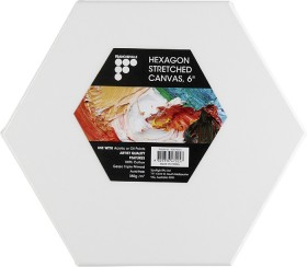 40-off-NEW-Francheville-6-Hexagon-Canvas on sale