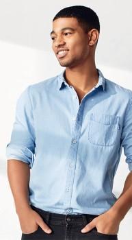 Denim-1964-Co.-Chambray-Long-Sleeve-Shirt on sale