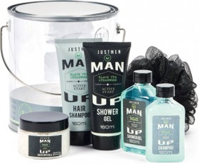 Man-Up-Wash-Bucket-Pack on sale