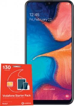 Vodafone-Samsung-A20-4G on sale