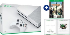 Xbox-One-S-1TB-Console-Division-2-Download-Token-1-Month-Game-Pass-Trial-1-Month-Xbox-Live-Trial on sale