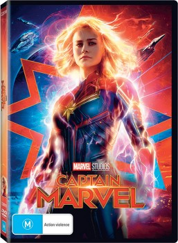 Captain-Marvel-DVD on sale