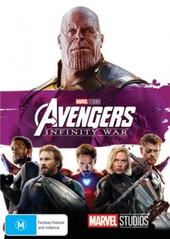 Avengers-Infinity-War-DVD on sale