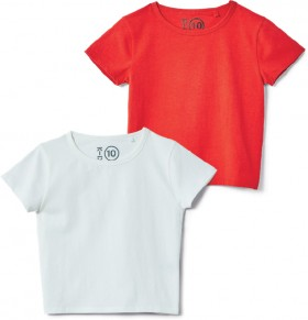 K-D-Stretch-Cropped-Tees on sale