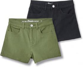 Denim-1964-Co.-High-Waist-Shorts on sale