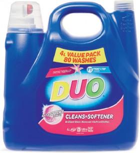 Duo-Laundry-Liquid-4-Litre on sale