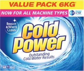 Cold-Power-Laundry-Powder-6kg on sale