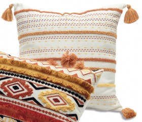 House-Home-Clare-Textured-Cushion on sale