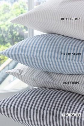 Hampton-Stripe-Linen-Cushion on sale