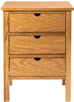 Madsen-Three-Drawer-Bedside-Table on sale