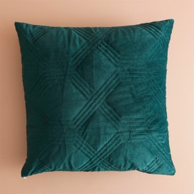 Grace-Quilted-European-Green-Pillow-Sham-by-M.U.S.E on sale