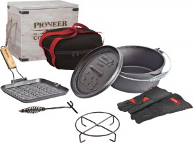 Campfire-Pioneer-Lawson-Cast-Iron-7-Piece-Set on sale