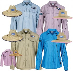 BCF-Fishing-Shirt-Straw-Hat-Pack on sale