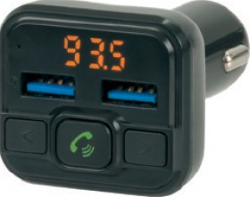 In-Car-Handsfree-Kit-with-FM-Transmitter on sale