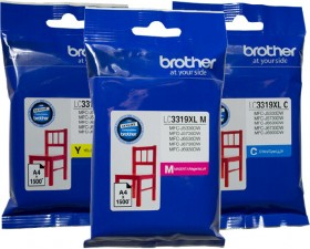 Brother-LC3319XL-Colours on sale