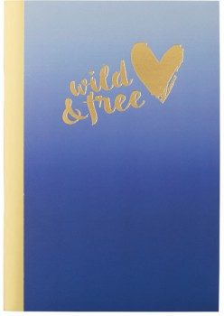 A5-Slim-Notebook-64-Pages-Navy on sale