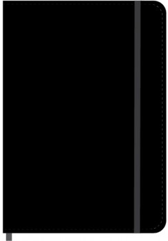 A5-PU-Leather-Journal-192-Pages-Black on sale