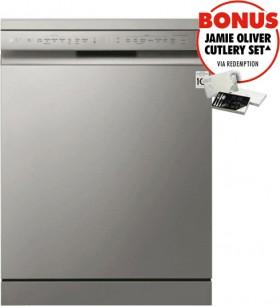 LG-QuadWash-TrueSteam-Dishwasher-Platinum-Steel on sale
