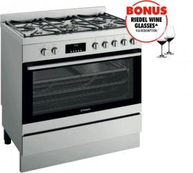 NEW-Westinghouse-90cm-Dual-Fuel-Freestanding-Cooker on sale