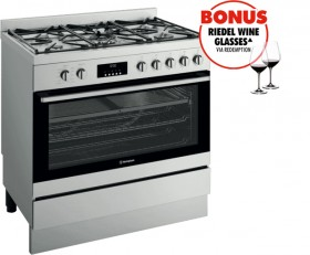 NEW-Westinghouse-90cm-Pyrolytic-Dual-Fuel-Cooker on sale