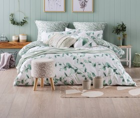 NEW-Ombre-Home-Beautiful-Blossom-Leaf-Quilt-Cover-Set on sale